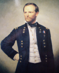 william-t-sherman-standing with hand on hip